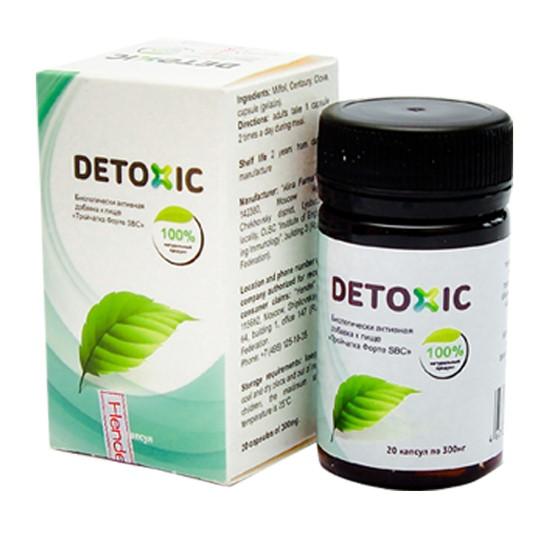 detoxic diệt ký sinh trùng