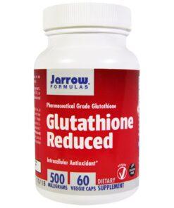 Glutathione Reduced 500mg bổ gan, hỗ trợ điều trị ung thư