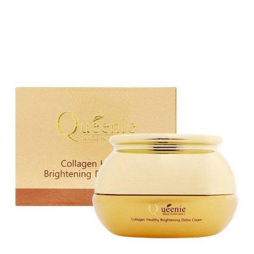 Kem dưỡng thải độc trị nám, trị mụn Queenie Collagen