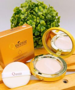 Phấn trang điểm kiềm dầu Queenie Nutri Collagen & Q10 Whitening