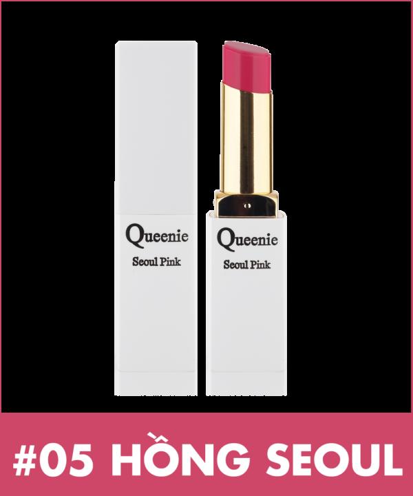 Son dưỡng môi cao cấp Queenie Glamour Matte Stick LipTint