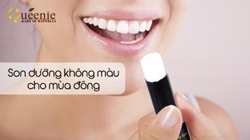 Son dưỡng môi không màu Queenie Magic Treatment Lip Balm
