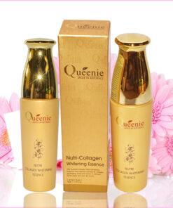 Tinh chất dưỡng trắng da Queenie Nutri Collagen Whitening 50ml