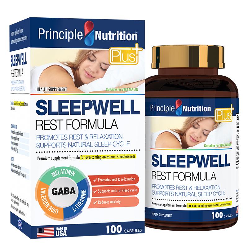Viên Hỗ Trợ Giấc Ngủ Principle Nutrition Sleep Well Rest Formula 100 viên