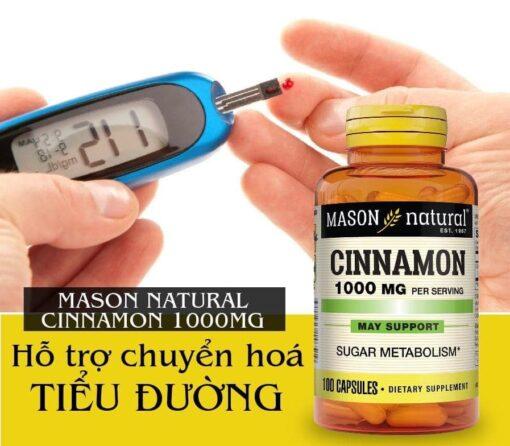 quế điều trị tiểu đường