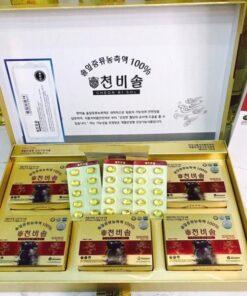 Viên tinh dầu thông đỏ Cheol Bi Sol Hàn Quốc