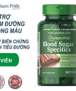 viên uống tiểu đường puritan's pride