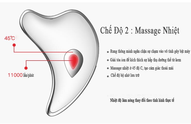 máy massage mặt xiaomi