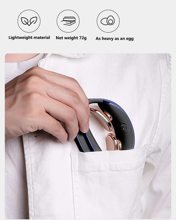 máy massage cổ xung điện