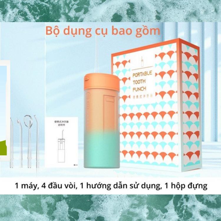 cách dùng máy tăm nước