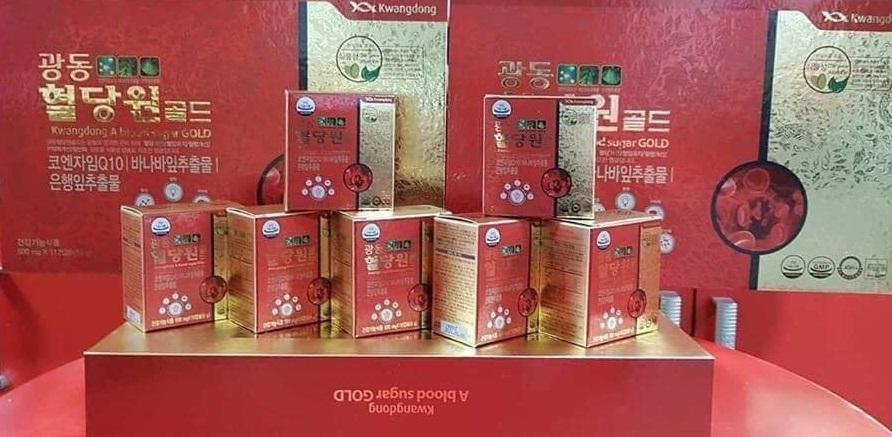 viên uống tiểu đường kwangdong