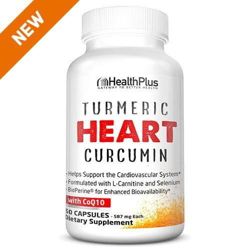 Hỗ Trợ Cho Sức Khoẻ Tim Mạch Turmeric Heart™ Health Plus 60 Viên