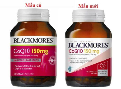 Blackmores CoQ10 150mg - viên uống bổ tim mạch