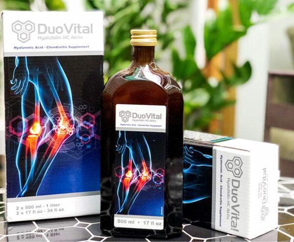 Dung dịch uống DUO VITAL của Đức giúp tái tạo và nuôi dưỡng sụn khớp