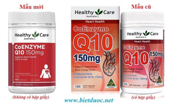 viên uống bổ tim mạch Healthy Care CoEnzyme CoQ10 150mg