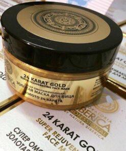 Mặt nạ vàng nguyên chất 24k Natura Siberica