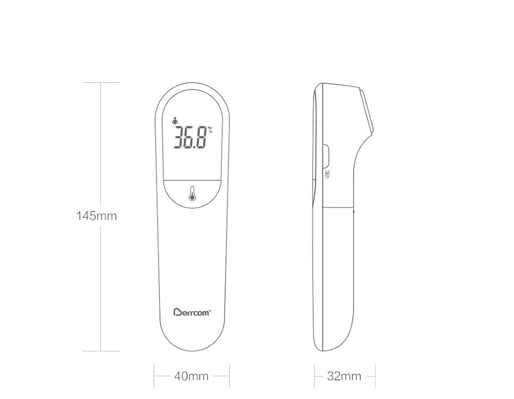 nhiệt kế thông minh xiaomi berrcom jxb-305