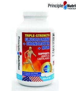 Viên uống bổ xương khớp Triple-Strength Glucosamine Chondroitin MSM Principle Nutrition 240 viên