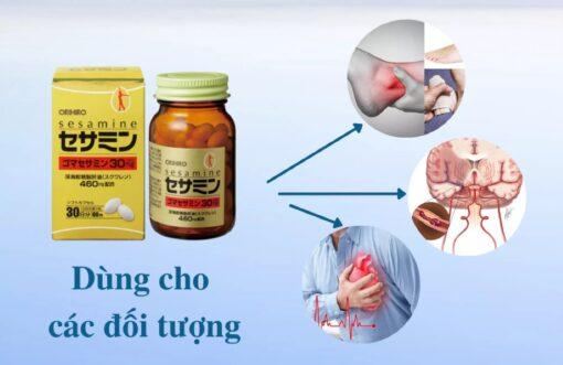 đối tượng sử dụng viên uống hỗ trợ tim mạch Orihiro