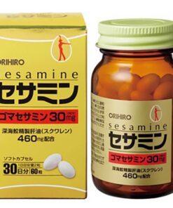 Viên uống bổ sung Sesamin và Squalene hỗ trợ tim mạch