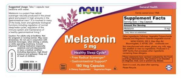 now melatonin có tốt không