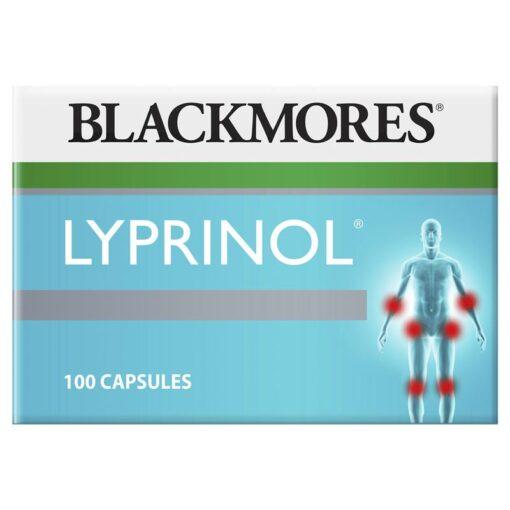 Viên uống Lyprinol Marine Value Pack Blackmores 100 viên bổ khớp, giảm đau nhanh xương khớp