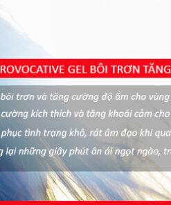 Gel Provocative - Gel bôi trơn làm tăng khoái cảm ở nữ giới