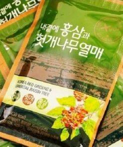 Nước Hồng Sâm Bổ Gan Daedong Korea Red Ginseng & Oriental Raisin Tree