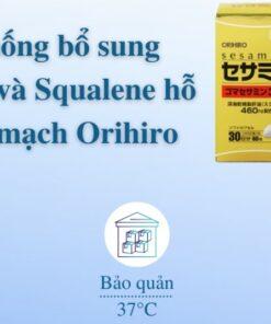 viên uống hỗ trợ tim mạch Orihiro Nhật Bản