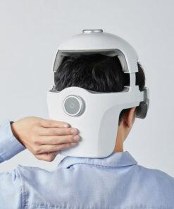 máy massage đầu momoda