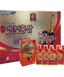 Nước hồng sâm trẻ em Gold Kid's Red Ginseng KangHwa 30 gói