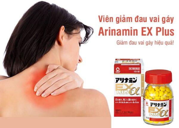 Viên giảm đau vai gáy Arinamin EX Plus Takera Nhật Bản