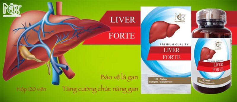 Viên uống Liver Forte 120 viên - Bổ gan và tăng cường chức năng giải độc gan
