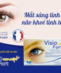 Viên uống bổ mắt và não Visio Concept Fort từ Pháp