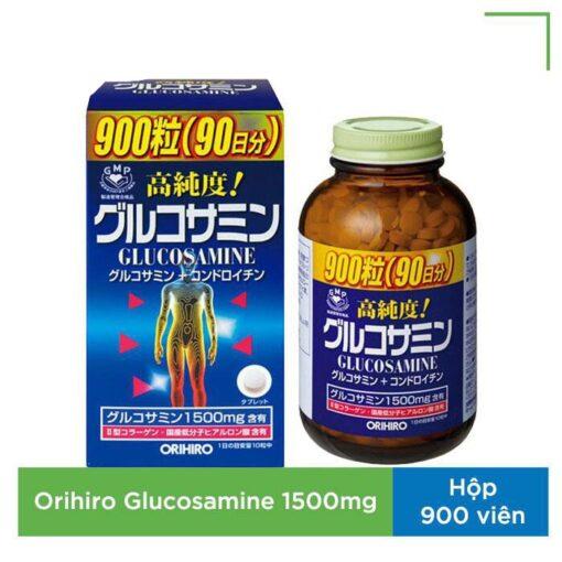Viên uống bổ xương khớp Glucosamine 1500mg Orihiro Nhật Bản 900 viên