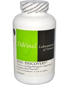 Viên uống Davinci Disc Discovery hỗ trợ điều trị thoát vị đĩa đệm, thoái hóa xương khớp