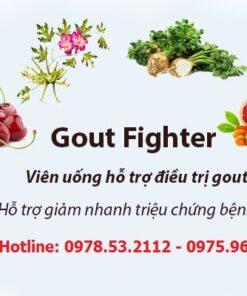 Viên uống GoutFighter® Max Biocare 60 viên - giảm axit uric, điều trị gout