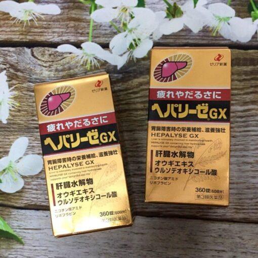 Viên Uống Hepalyse GX 360 Viên Nhật Bản - Bổ Gan, Giải Độc Gan