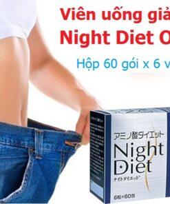 Viên uống giảm cân Night Diet Orihiro hộp 60 gói