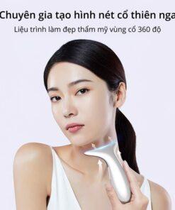 Máy massage nâng cơ giảm nhăn Cổ Thiên Nga công nghệ EMS