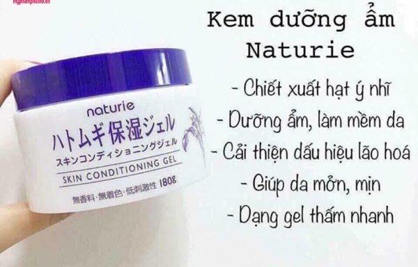 Gel dưỡng ẩm trẻ hóa da hạt Ý Dĩ Naturie Hatomugi Skin Conditioning
