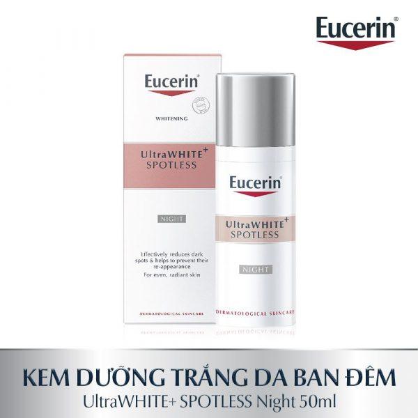Kem Dưỡng Trắng Da Ban Đêm Eucerin Whitening UltraWHITE+ SPOTLESS
