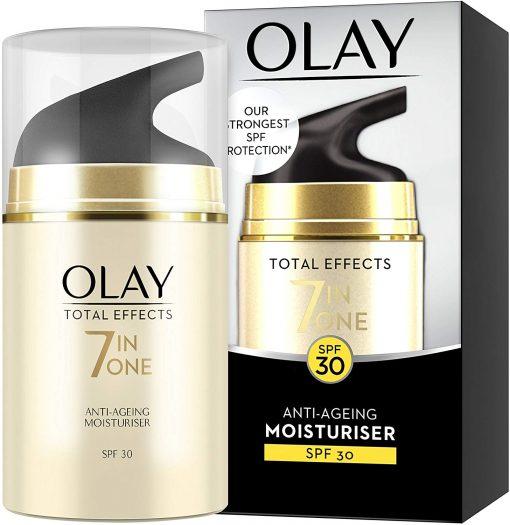 Kem dưỡng da ban ngày Olay Total Effects Anti-Ageing Moisturiser 7in1