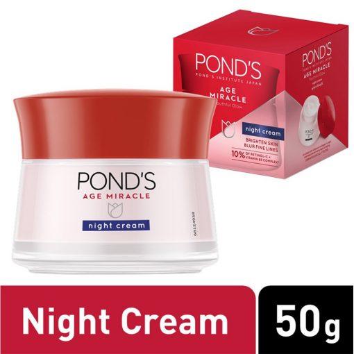 Kem dưỡng da chống lão hóa ban đêm Pond's Age Miracle Night Cream 50g