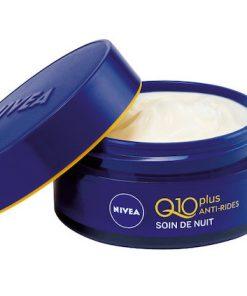 Kem dưỡng da chống lão hóa ban đêm Nivea Q10 Power 50 ml