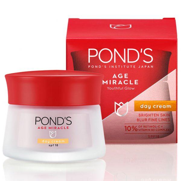 Kem dưỡng da chống lão hóa ban ngày Pond's Age Miracle Day Cream SPF 18 (50g)