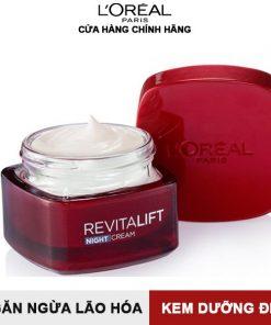 Kem dưỡng ban đêm L'Oreal Paris Revitalift 50 ml - Làm săn chắc da và giảm nếp nhăn