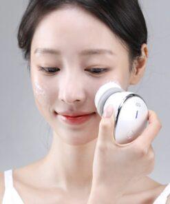 Máy Rửa Mặt - Massage Nóng Lạnh PETTI CARE Hàn Quốc - Làm sạch da, massage mặt và chăm sóc da mặt